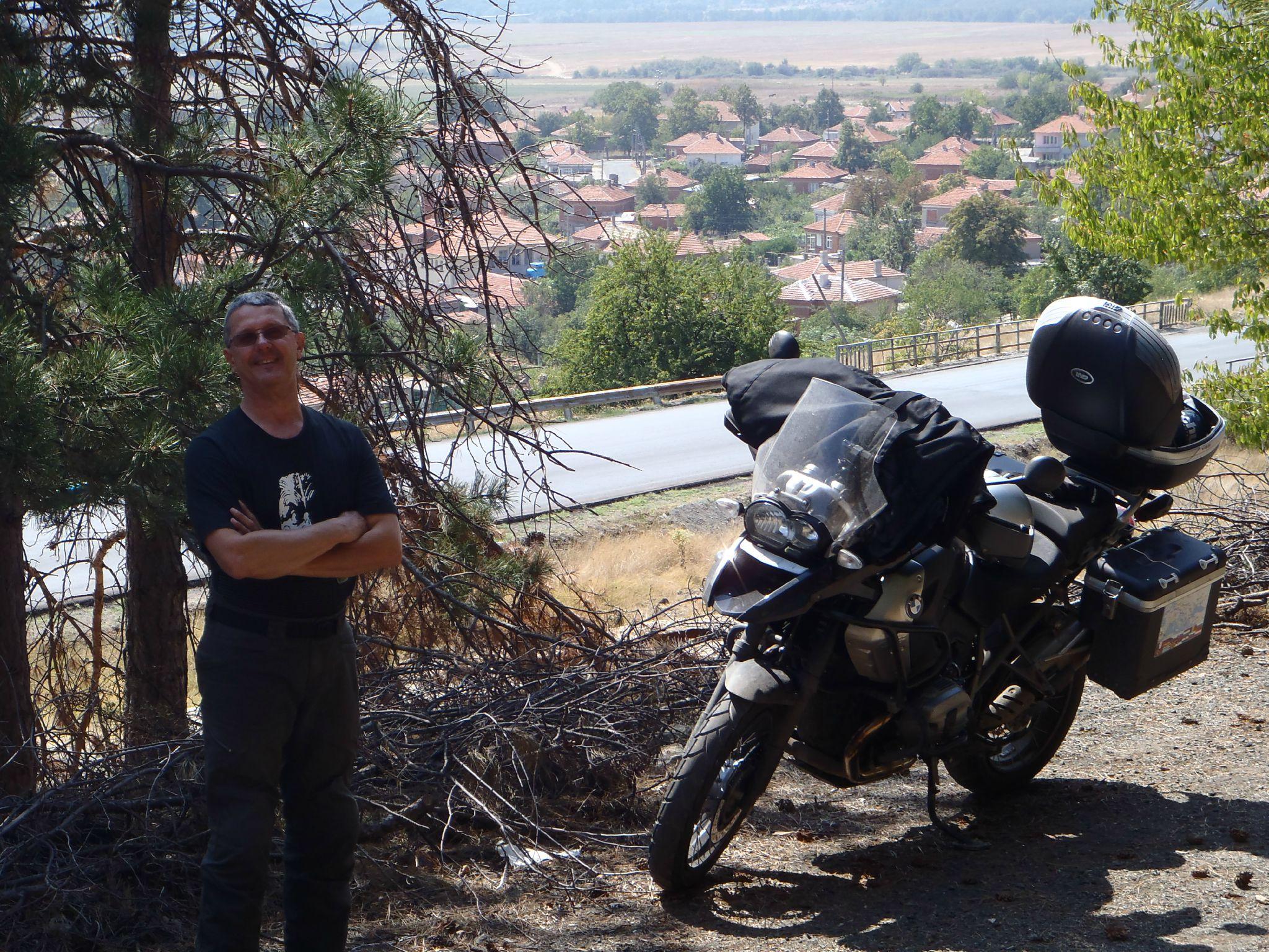 bulgarie - vue sur le village