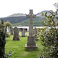 Tombes et cimetières écossais