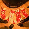 Atelier créatif:Chausettes de Noël