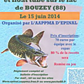 Open barque et float tube de bouzey (88).