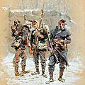 de Neuville, infanterie de ligne 1870
