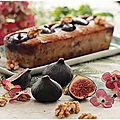 Cake figues, noix, <b>chèvre</b>...Un régal!