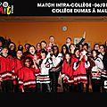 ✔ 2014/2015 - CICMIT 16 - 16EME CHAMPIONNAT INTER-COLLÈGES SQY