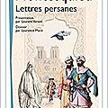 Lettres persanes etc.
