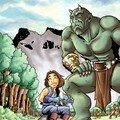 Naheulbeuk : Le Troll Darkam et le ménestrel, colo de Fleur