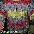 Pull 3 couleurs