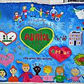 Vidéo de La Grande Fresque pour la Paix d'Auriol 2019