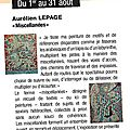 Exposition 2012, <b>Luxeuil</b>-les-Bains