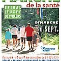 Marche de la santé - edition 2015