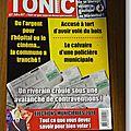 Mars - Le magazine Tonic est chez votre marchand de journaux !