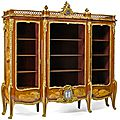 Important <b>Francois</b> <b>Linke</b> bibliotheque highlights significant California collections of 19th century furniture