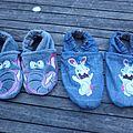 Des chaussons pour la rentrée