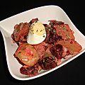 Salade de pommes de terre et de betterave
