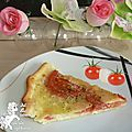 Tarte tomate mozza, participation à la bataille food 33