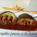 Courgettes farcies à la tunisienne
