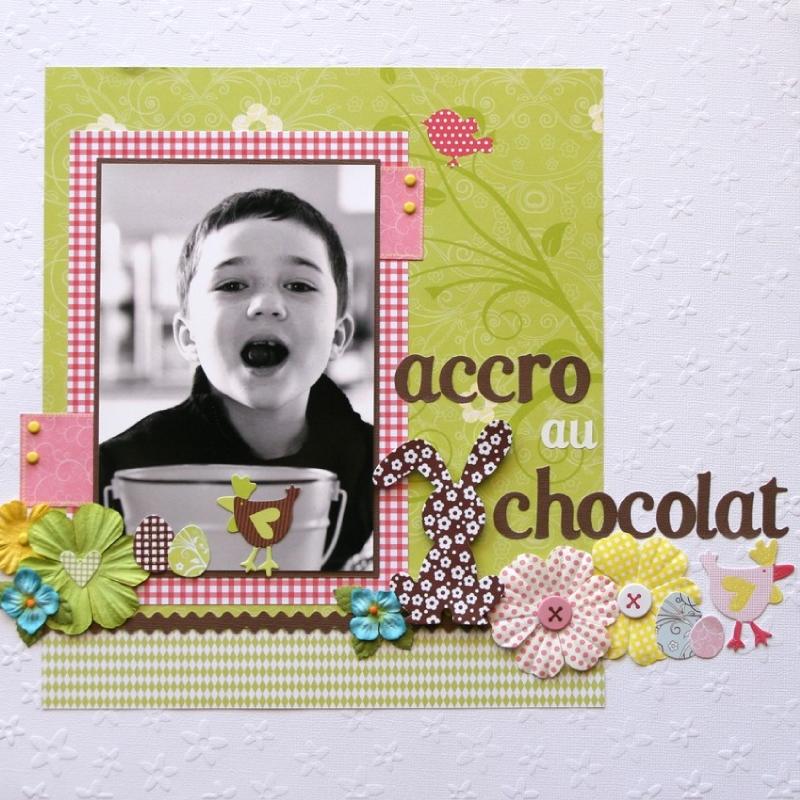 accro au chocolat