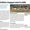 Coup de projecteur sur les agricultrices dans le journal de trame...
