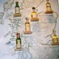 Carte des Whisky d'Ecosse