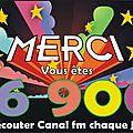 Record d'audience pour la radio locale canal fm, avec ses 3 fréquences à fourmies (94 fm), avesnes (89.8 fm) et maubeuge(102.8)