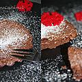 Tartelettes au chocolat mi-cuites