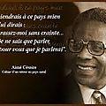 Victor hugo, aimé césaire : le droit, la loi, l'invasion des idées. jules renard et la gentilesse. prévert et la liberté.