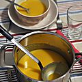 Velouté de courge butternut coco/curry