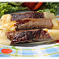 Brochettes boeuf fromage