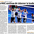 Blog officiel du MAC Volley-ball