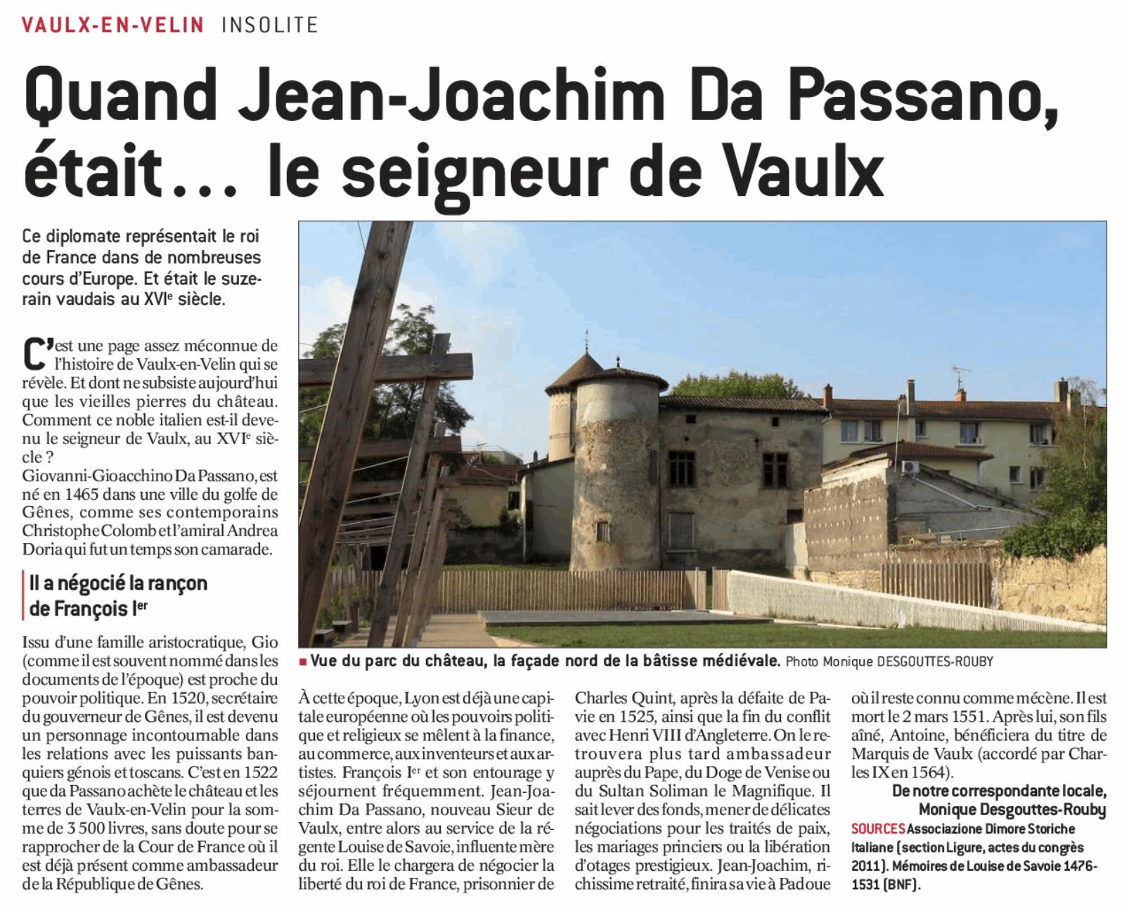 Historique de Vaulx-Velin