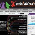 Musiqu'azimuts : nouveau portail musique en bibliothèque