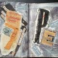 Appel à ma et altered book