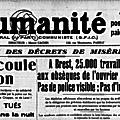 Toulon, août 1935 – (1) les événements