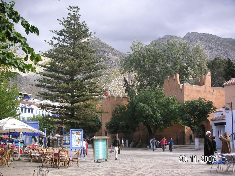 Place Mohammed V Chefchaouen