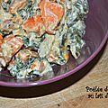 Poêlée de bettes au lait de coco
