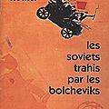 Les soviets trahis par les bolchéviques