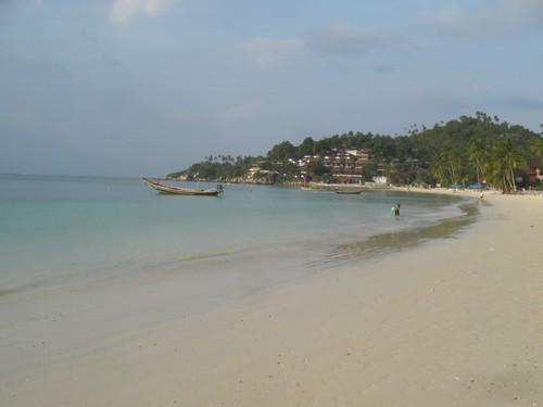 Koh Phangan, la plage