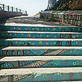 Street art/art de rue: les escaliers peints de constantine en algérie
