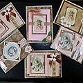 Petites cartes style vintage...