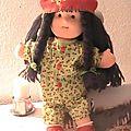 Ma 1ère poupée en tissu style waldorf