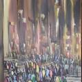 Acrylique sur toile. 100x50. 200 euros