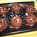 Rochers chocolat coco
