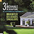 3 ieme biénale de sculpture propriété Caillebotte à Yerres