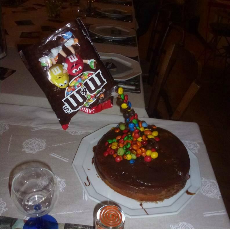 Gâteau Suspendu ou Gravity Cake