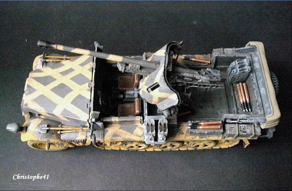 Demag D7 ( Sdkfz 10 ) avec Pak 38 - PICT1391