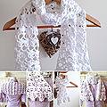 Etole printanière en coton pour enfant