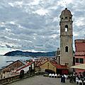 le village de Cervo, en <b>Ligurie</b>