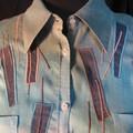 Gros plan sur le tie & dye