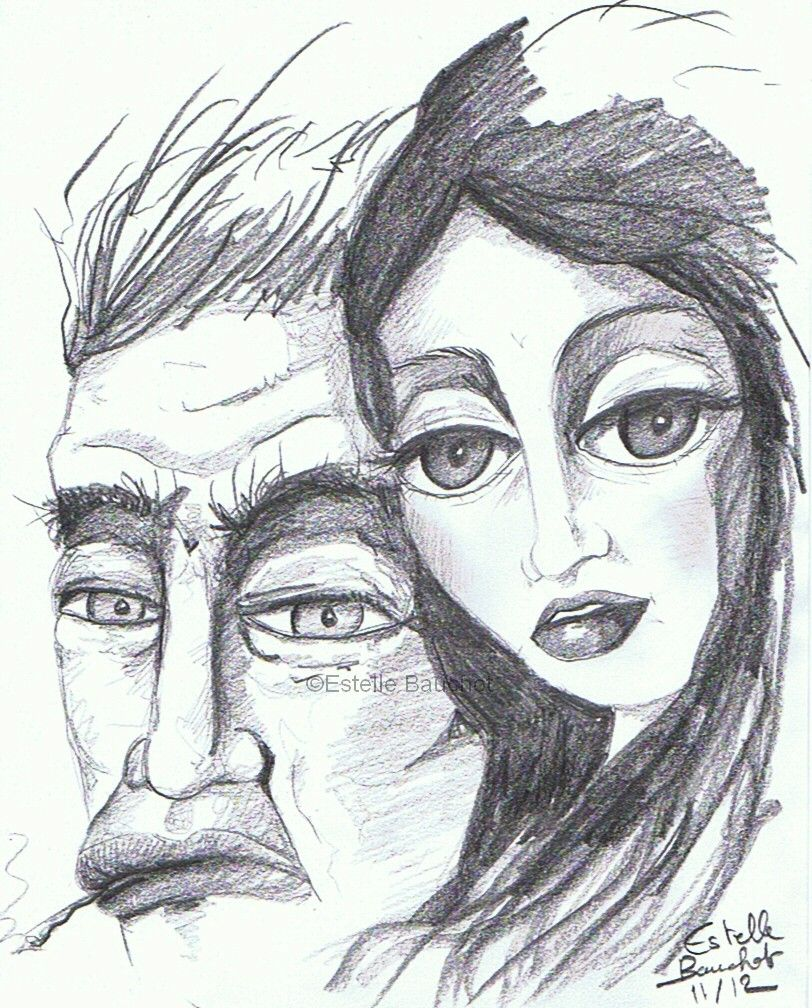Bonnie and Clyde, format A4