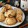 Petits pains aux <b>fruits</b> <b>secs</b> & thé noir de Noël