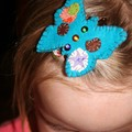 barrette papillon pour Mili